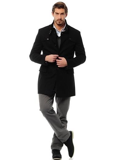 Asymmetry Palto Siyah